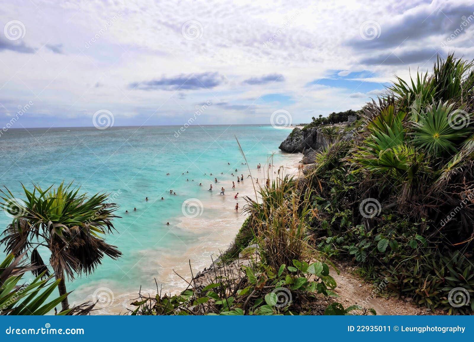 Mayan tulum riviera του Μεξικού παραλιών