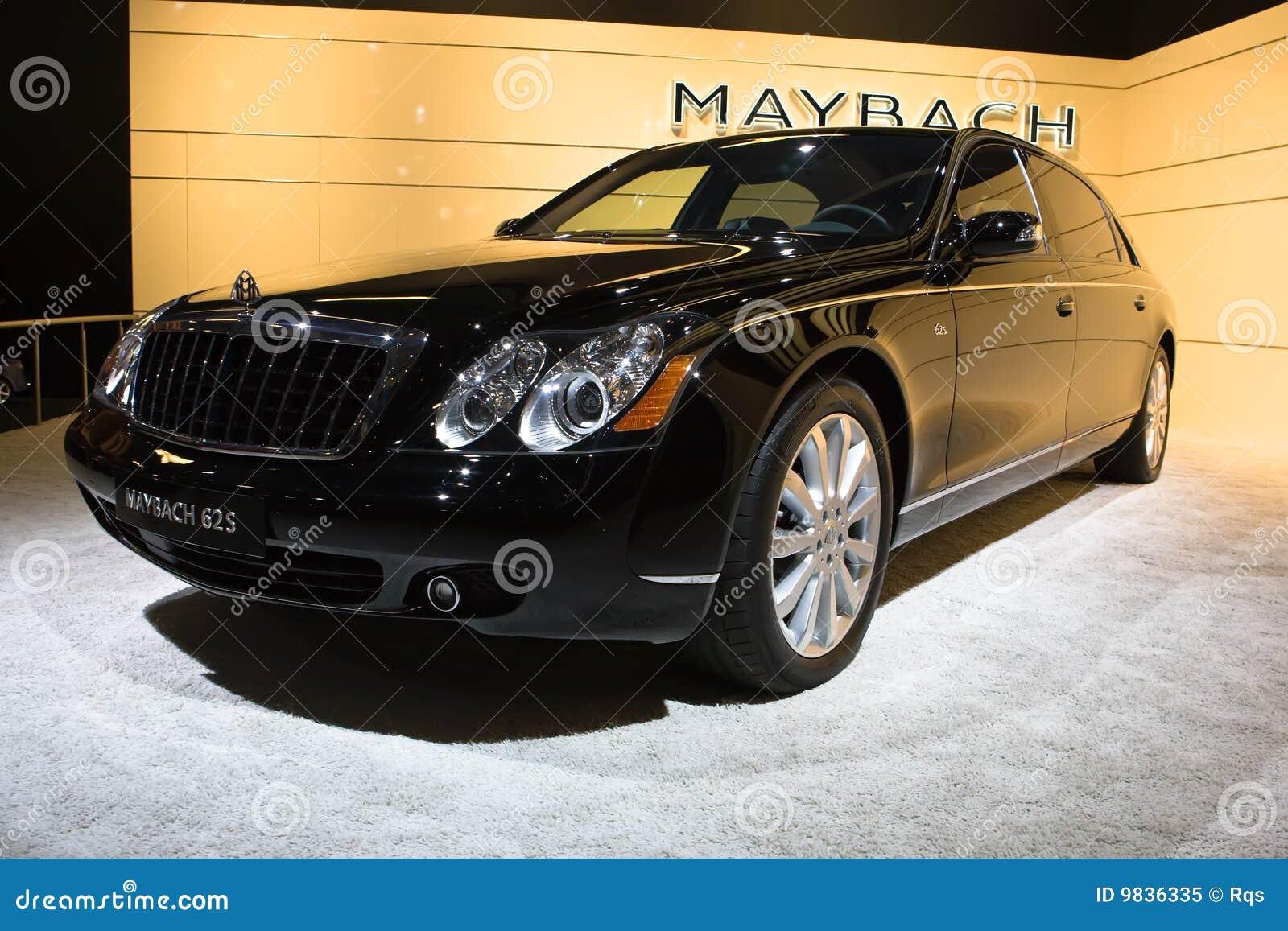 Maybach na exposição do International de Moscovo