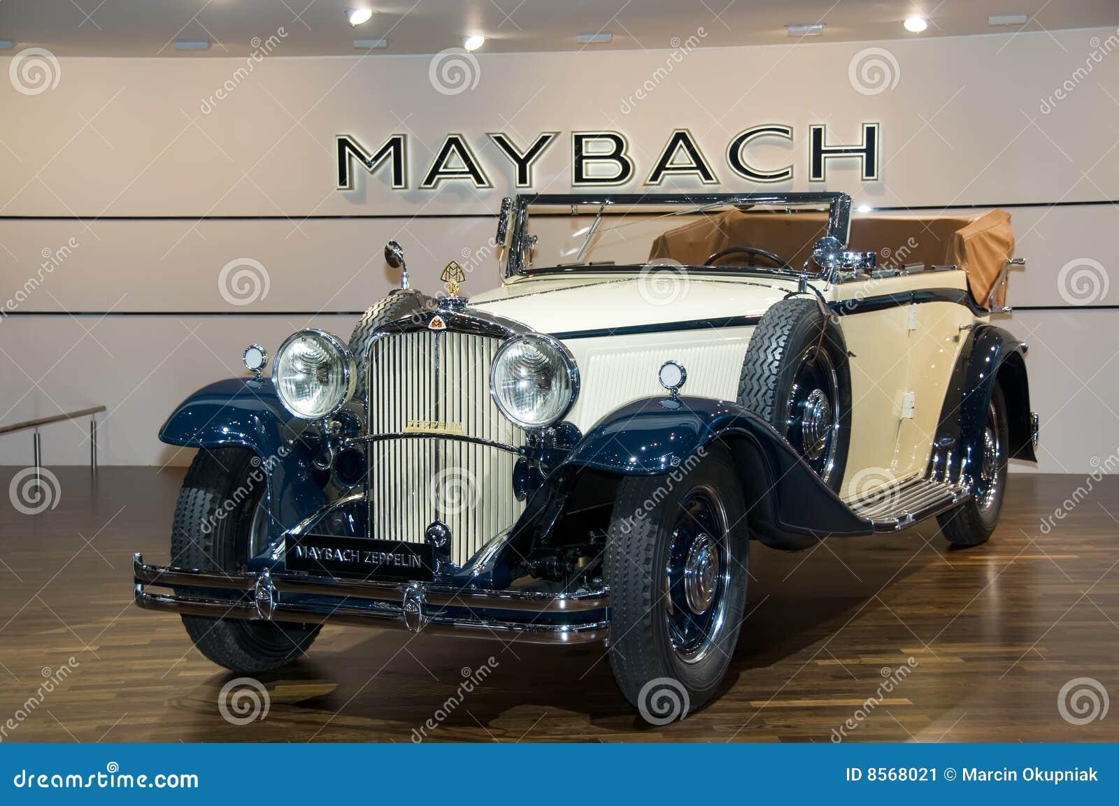 maybach zeppelin redaktionelles foto. bild von switzerland - 8568021