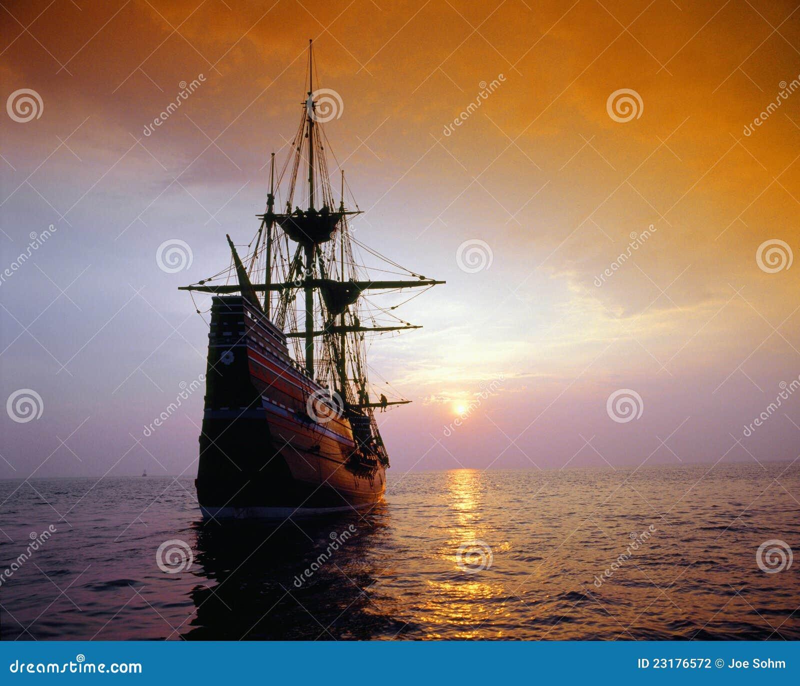 Mayflower II复制品