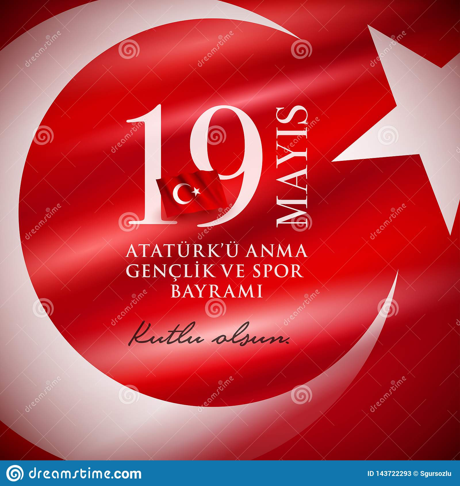 19 mayis Ataturk-` u Anma Genclik VE Spor Bayrami