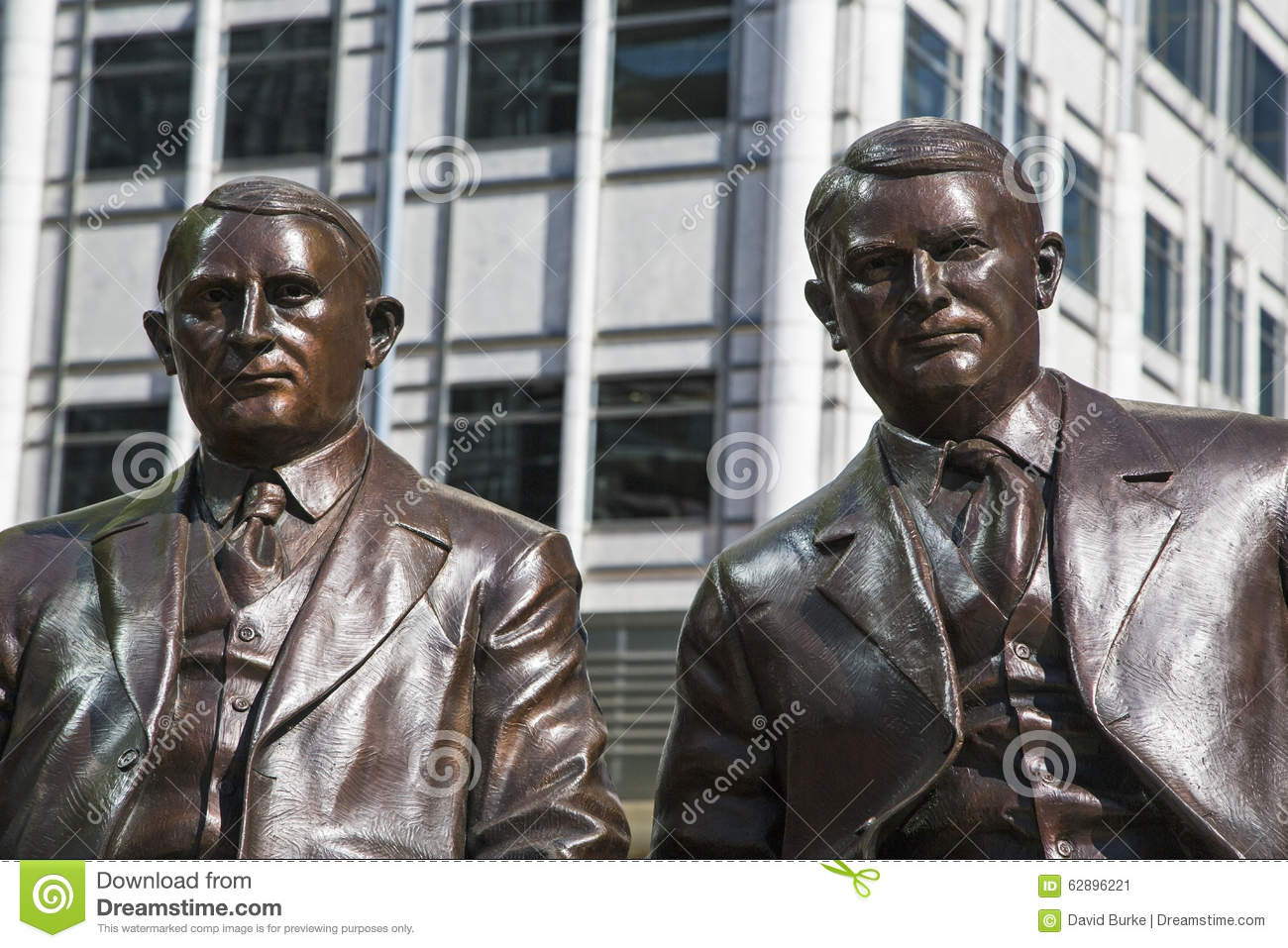 Mayo Clinic Brothers Rochester Statue Stock Image - Image of