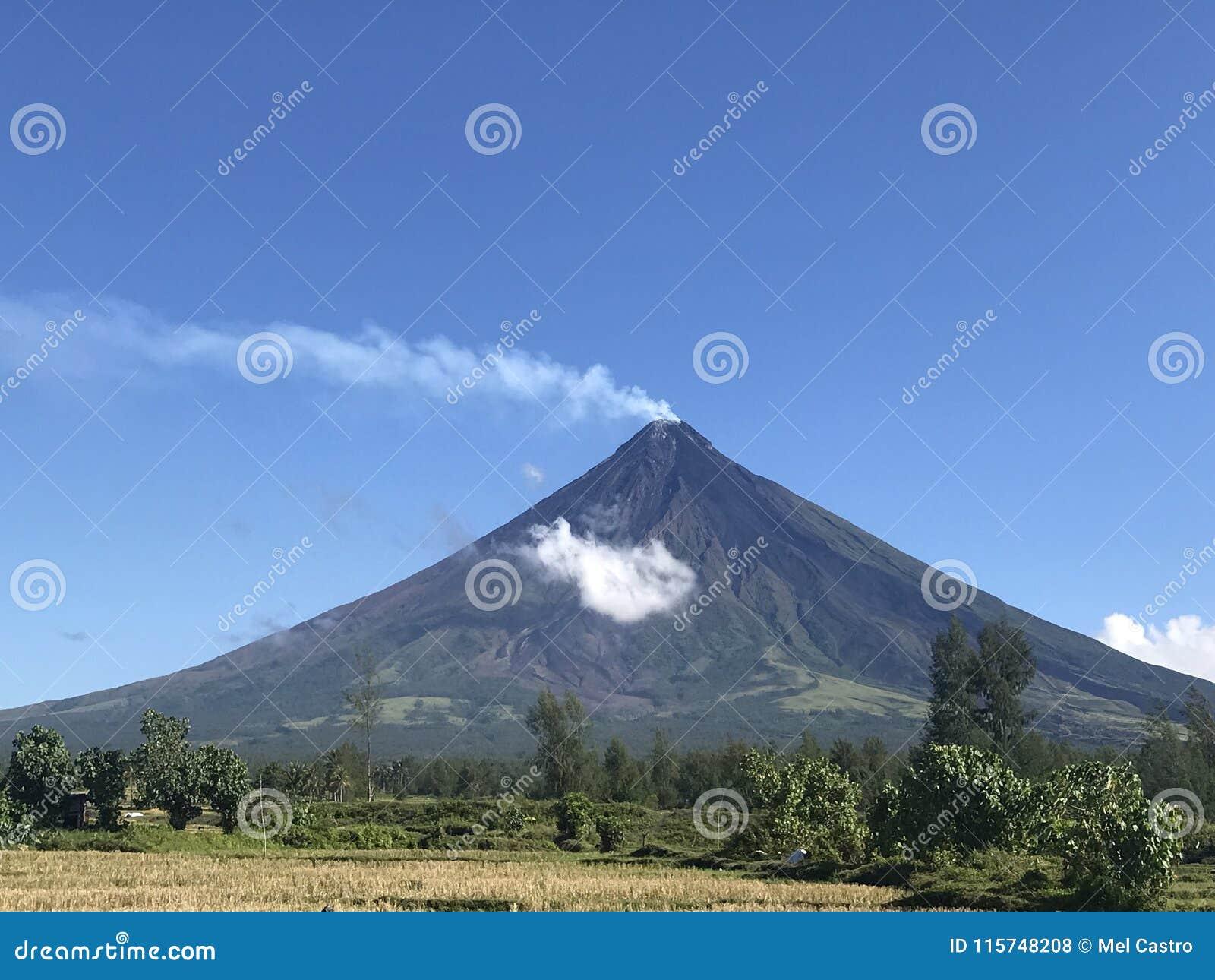 Mayon Vulkan