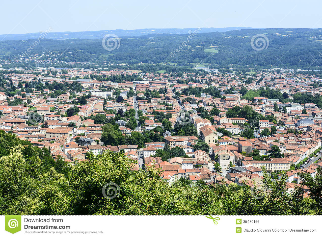 Mazamet France  city pictures gallery : Mazamet France , Panoramic View Royalty Free Stock Image Image ...