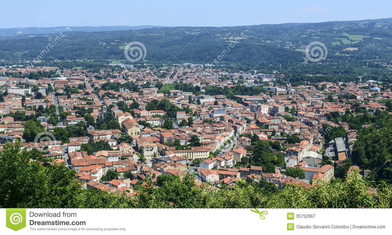 Mazamet France  city pictures gallery : Mazamet France , Panoramic View Royalty Free Stock Photography ...