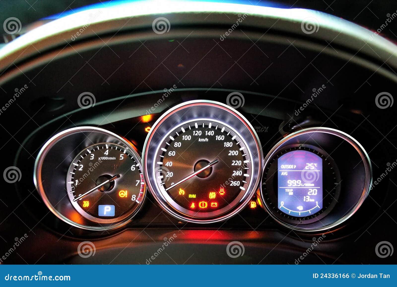 Mazda CX-5 Instrument Cluster Editorial Photo - Image: 24336166