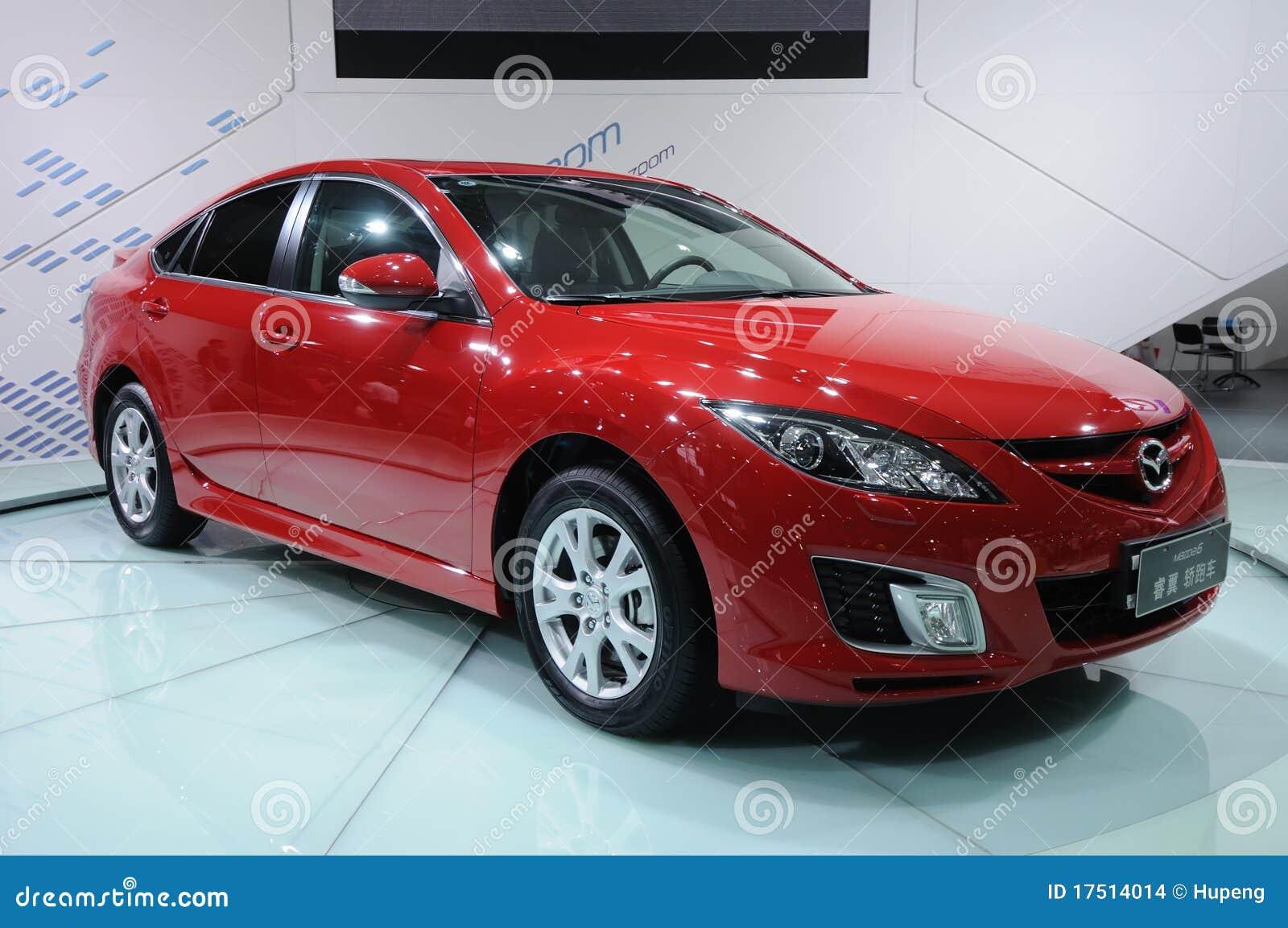 Mazda rouge 6