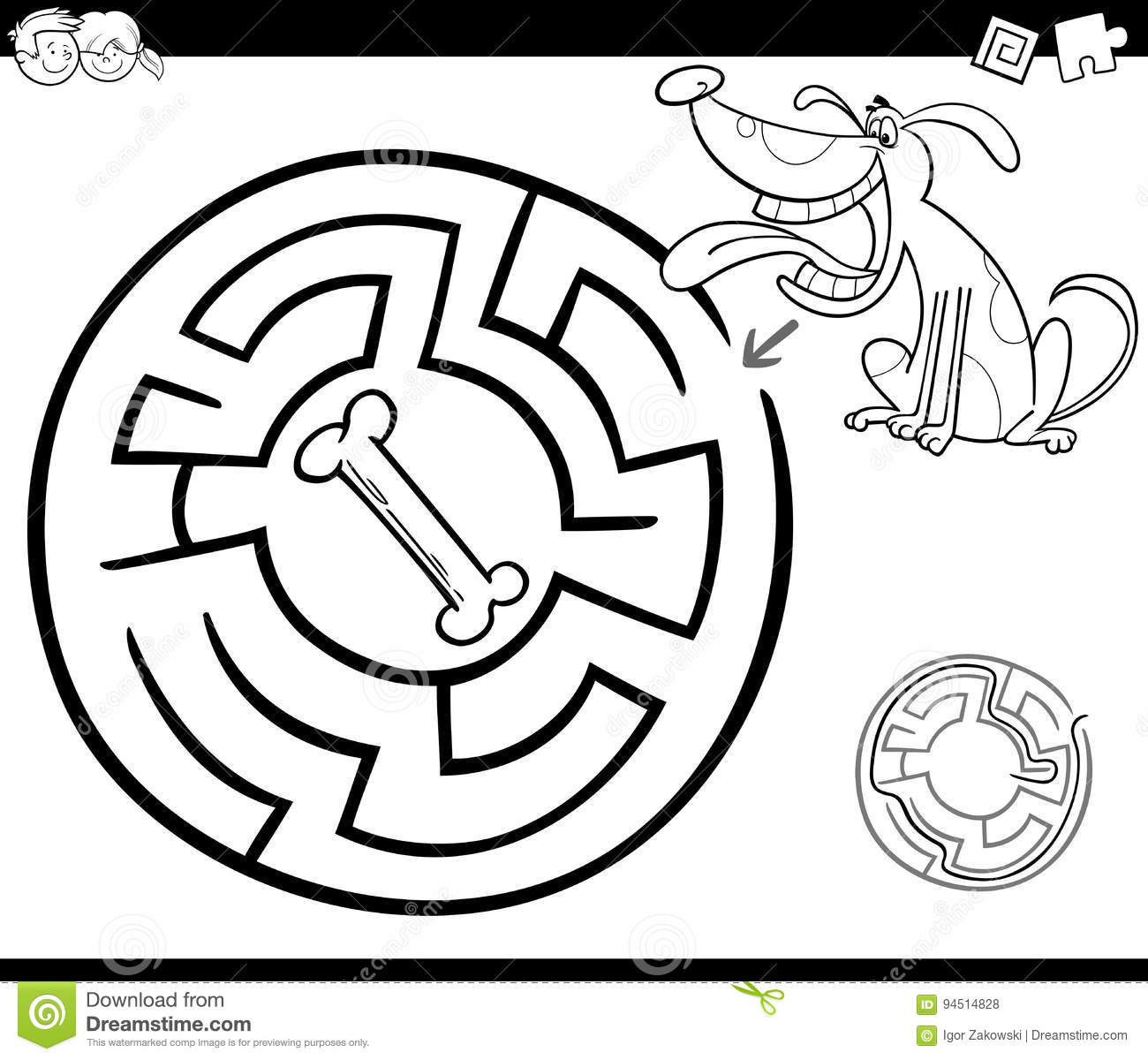 dog bone coloring page finest preschool puppy coloring page with