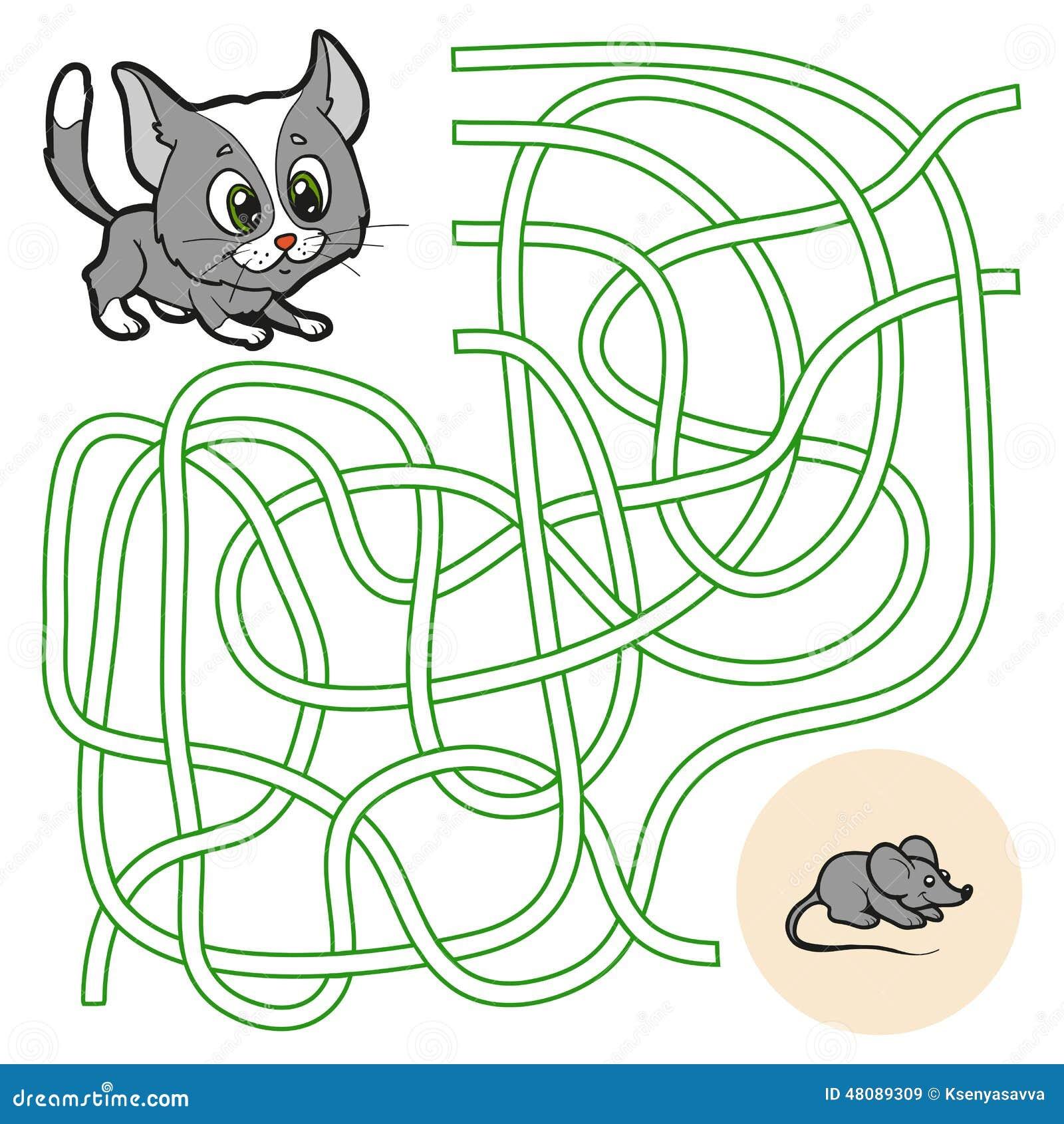 Maze Game For Children...