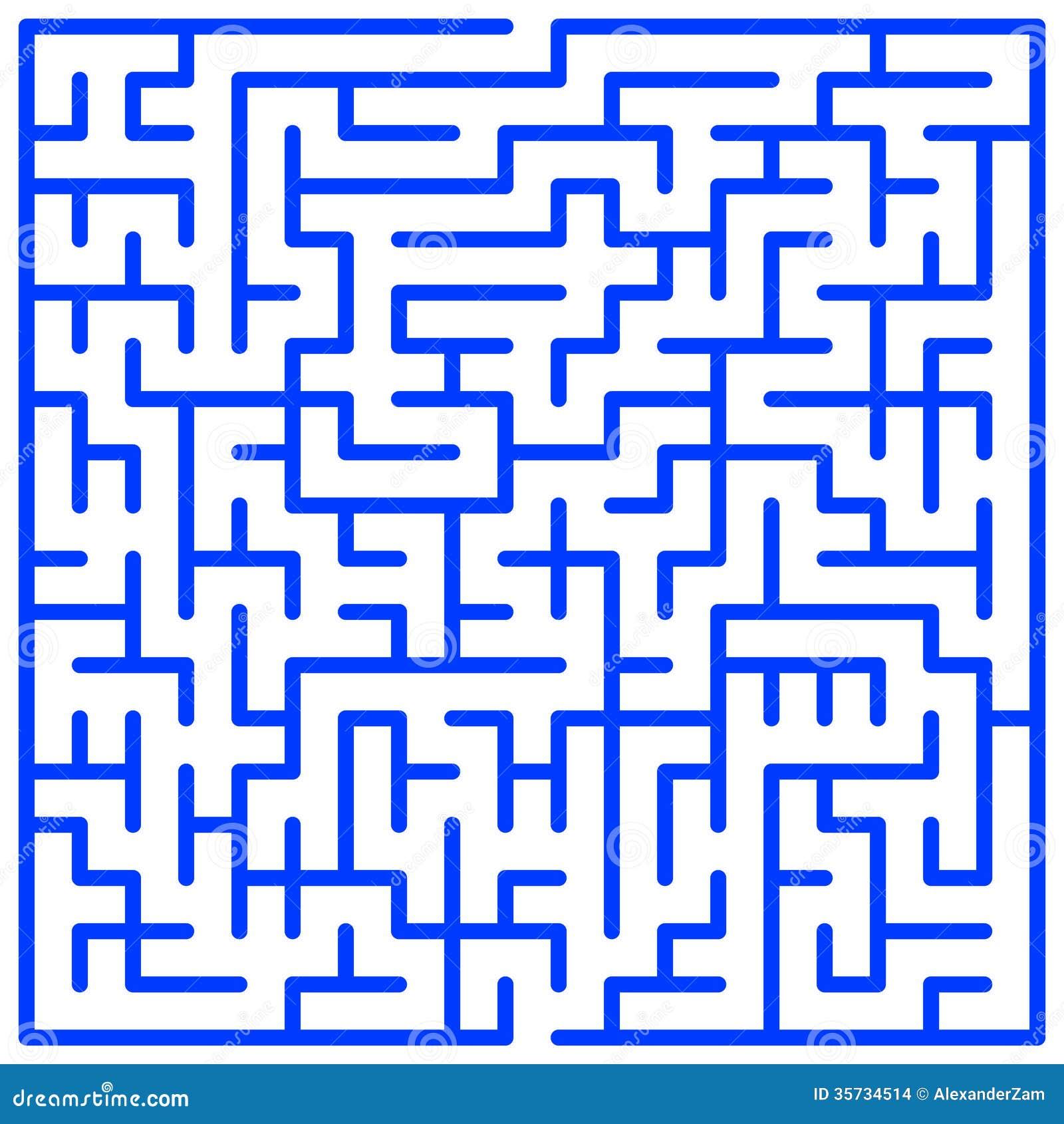 Maze Stock Images Image 35734514