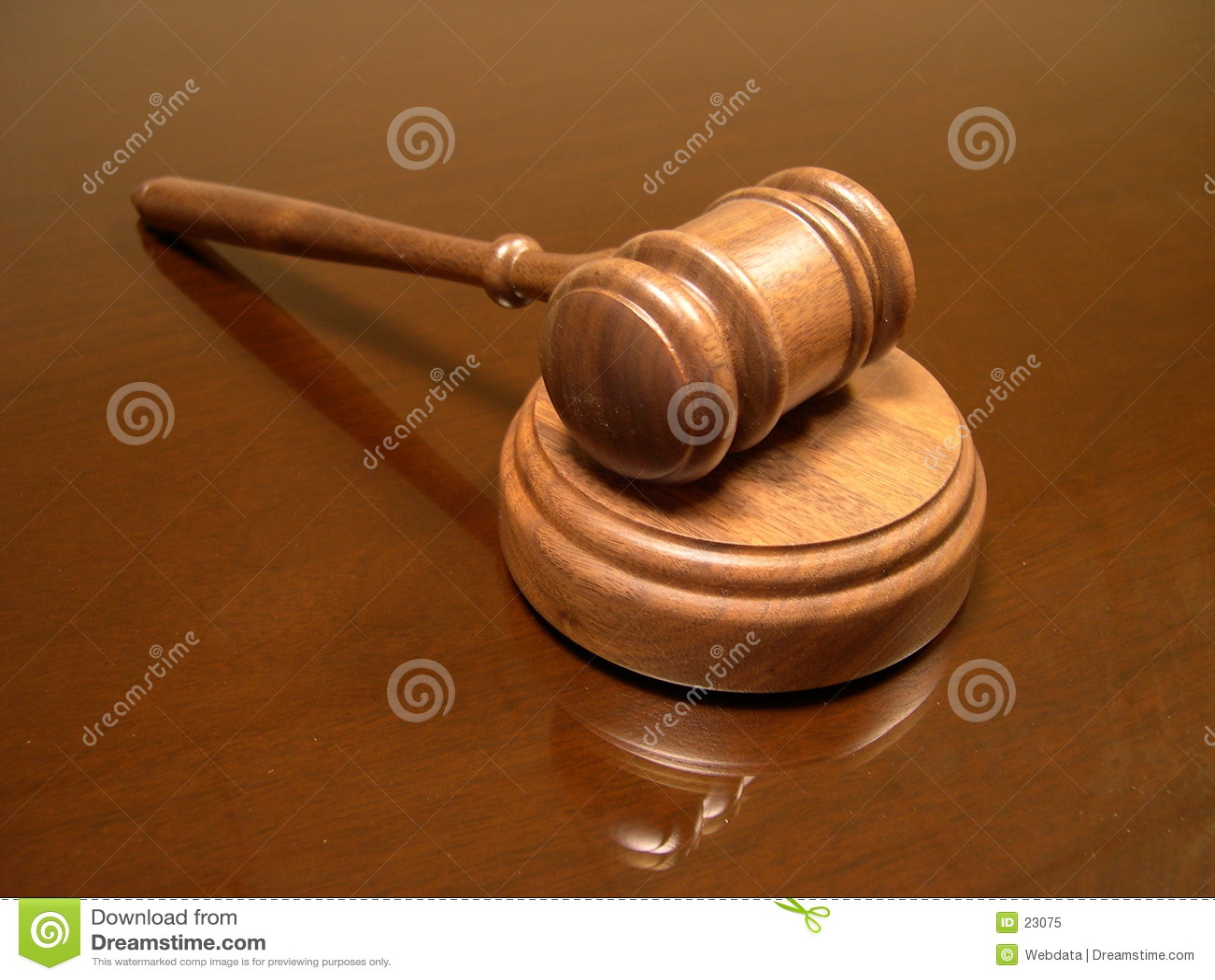 Mazo del juez