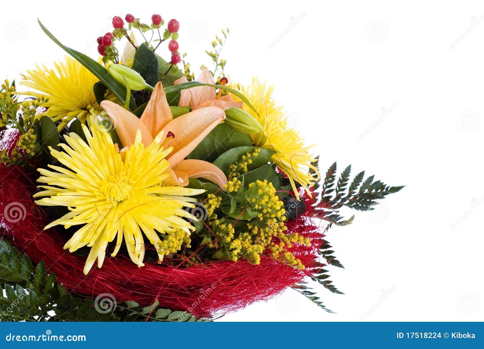 Mazzo di fiori immagini stock immagine 17518224 for Disegni del mazzo del cortile