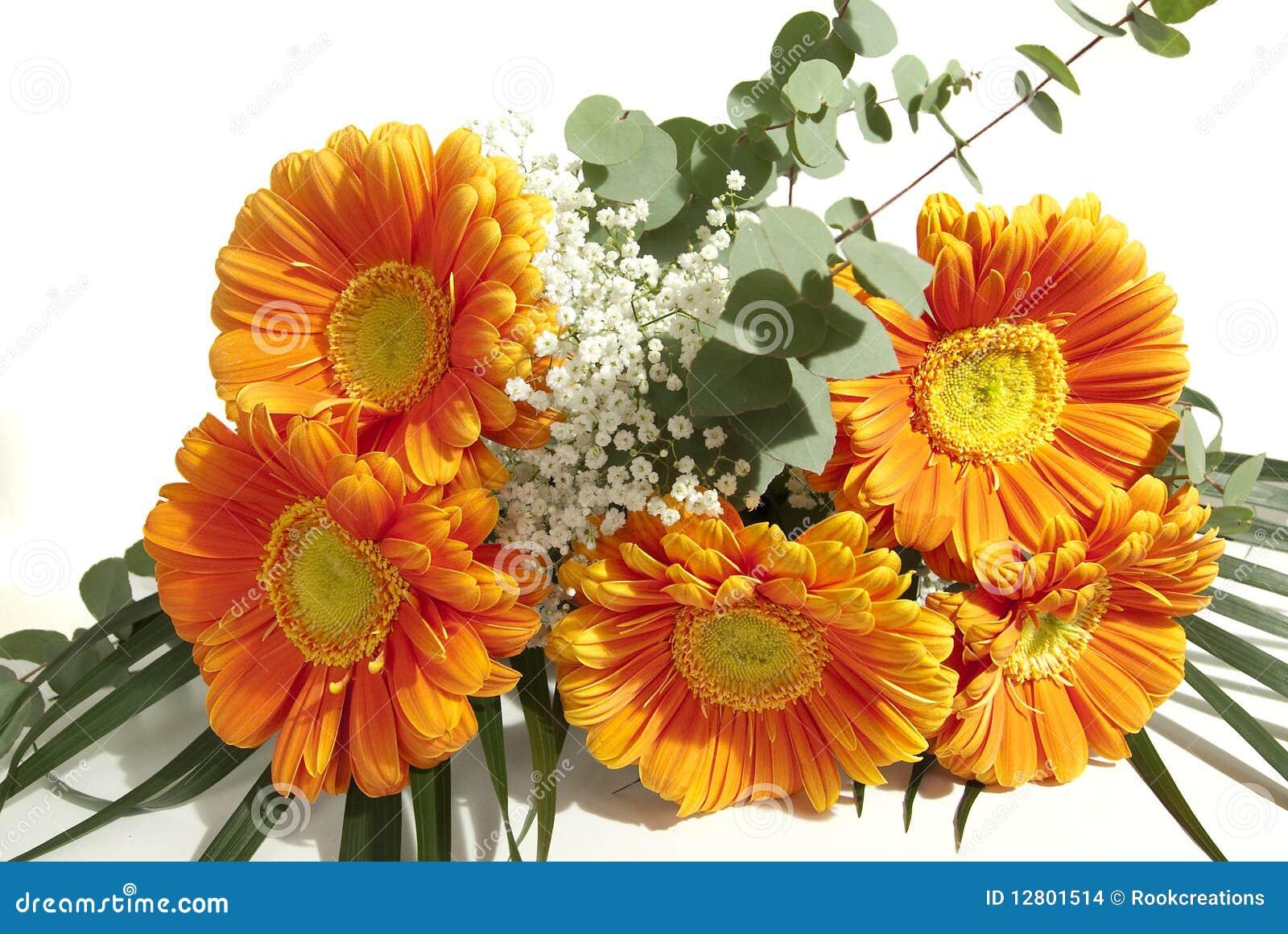 Mazzo di fiori del gerbera immagini stock immagine 12801514 - Immagini di fiori tedeschi ...
