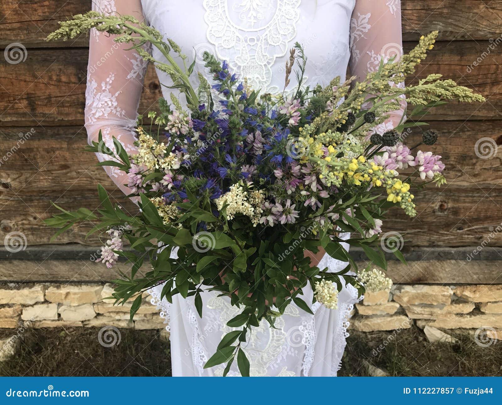 Mazzo di nozze di Boho