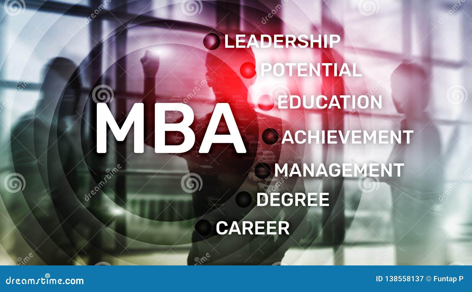 MBA - Master en administración de empresas, aprendizaje electrónico, educación y concepto personal del desarrollo
