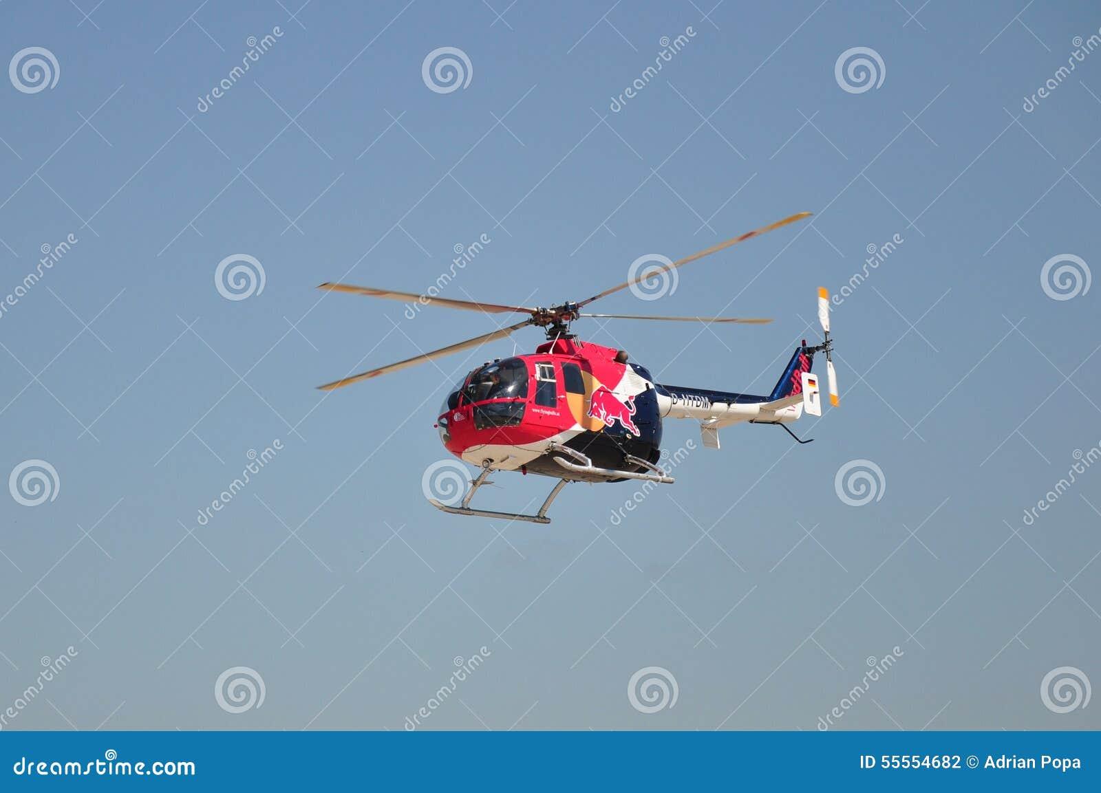 MBB Bo-105 de Red Bull
