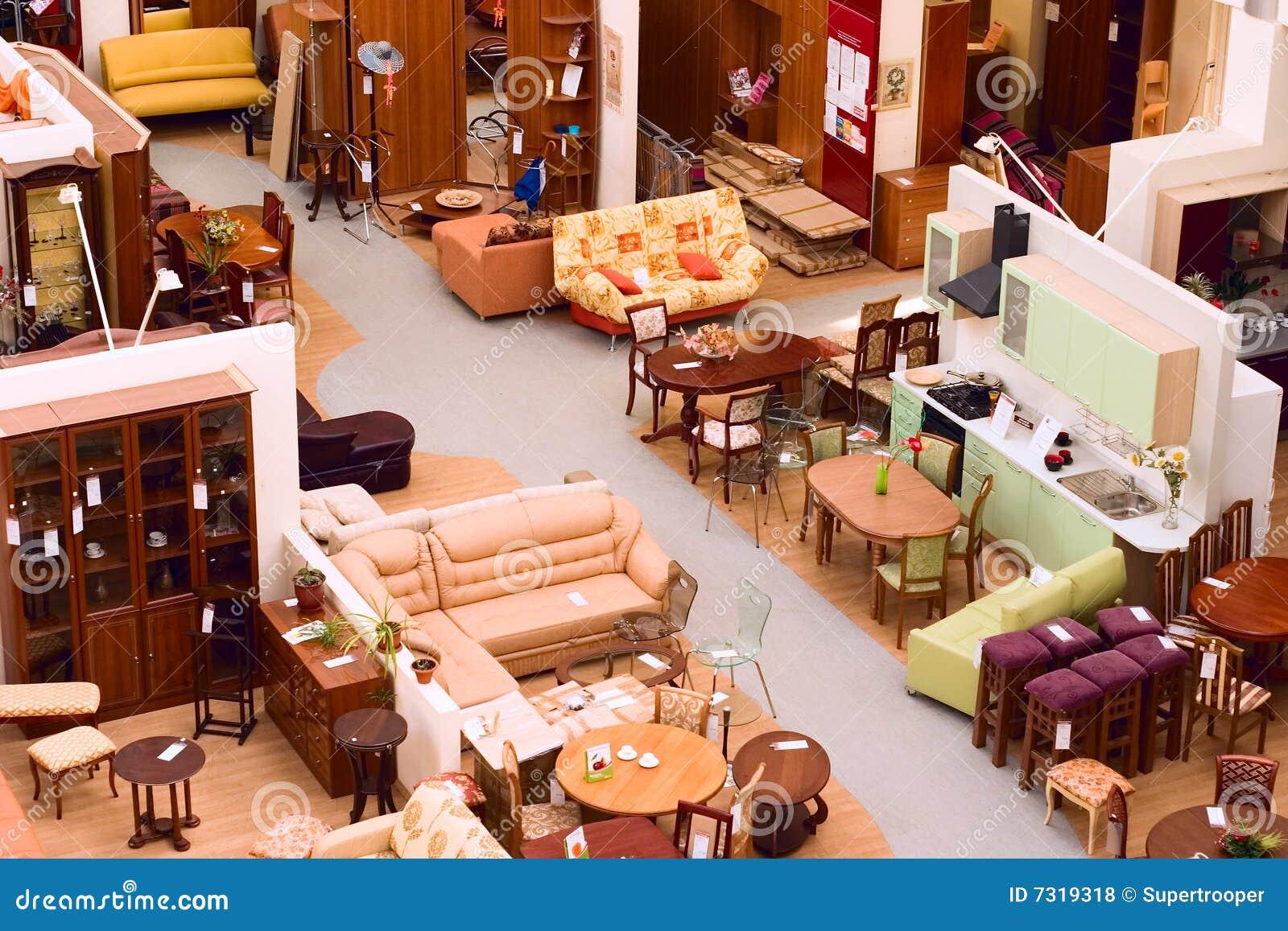 Möbelgeschäft Lizenzfreie Stockfotos - Bild: 7319318