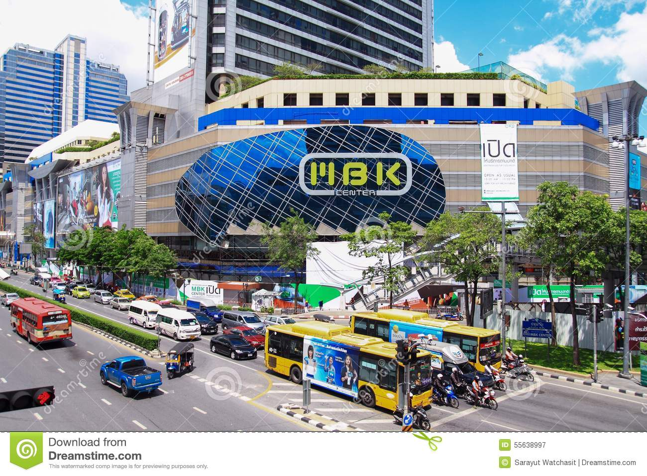 Mbk Center Shopping Mall In Bangkok Editorial Photography Image