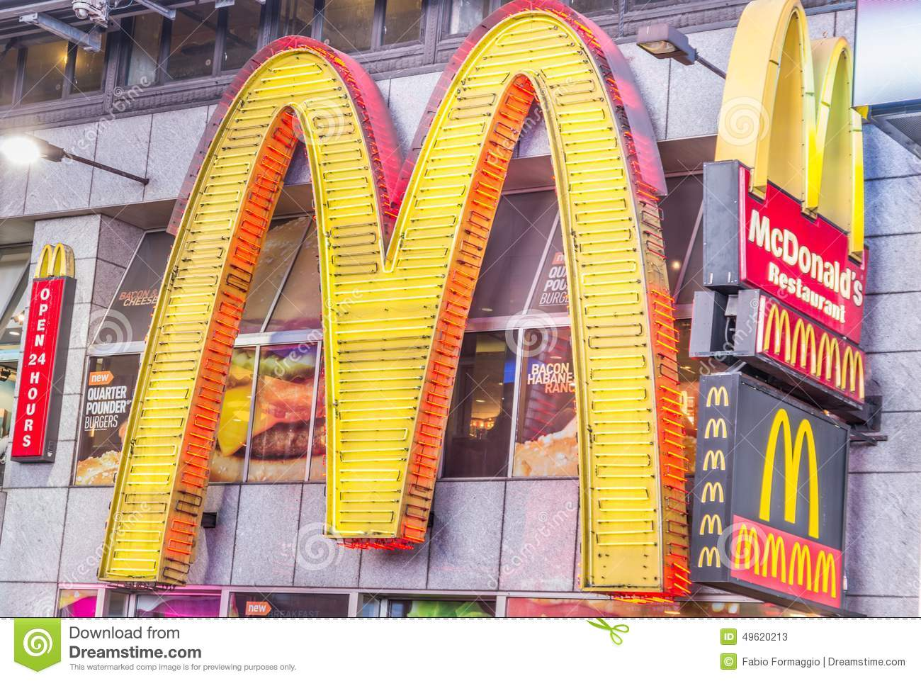 Best Fast Food In Times Square