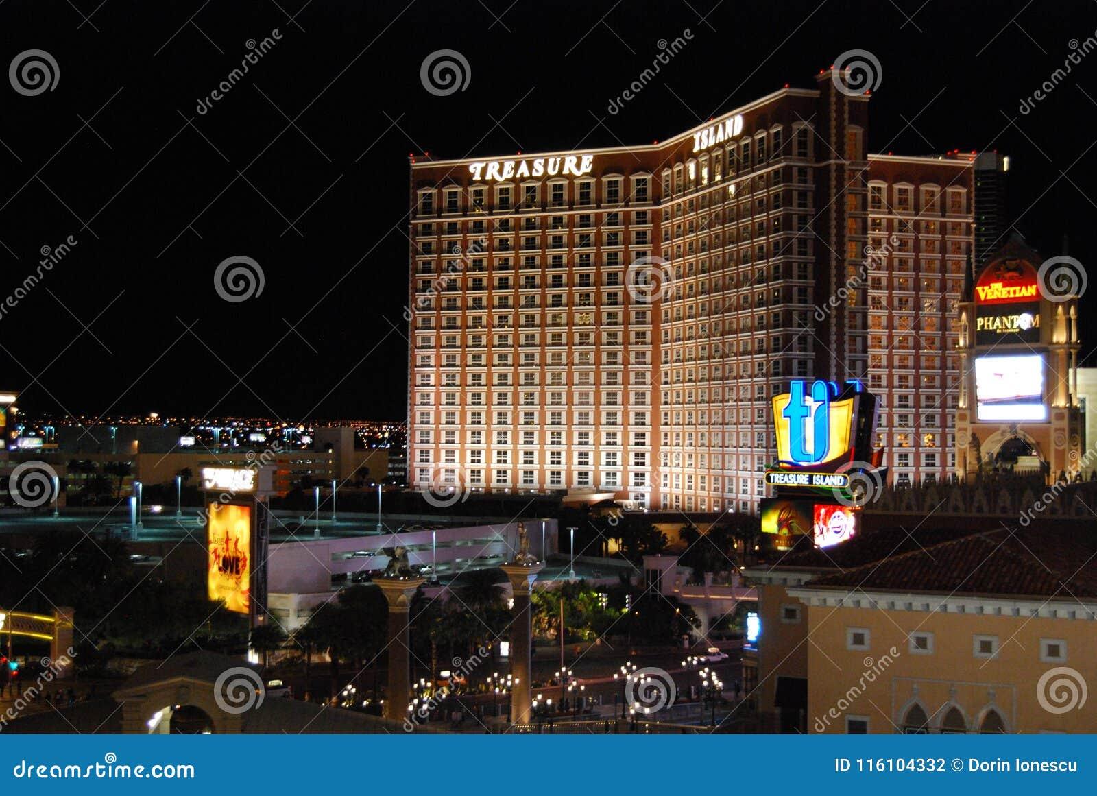 McCarran lotnisko międzynarodowe, Las Vegas, Las Vegas pasek Palazzo, obszar wielkomiejski, noc, miasto, metropolia