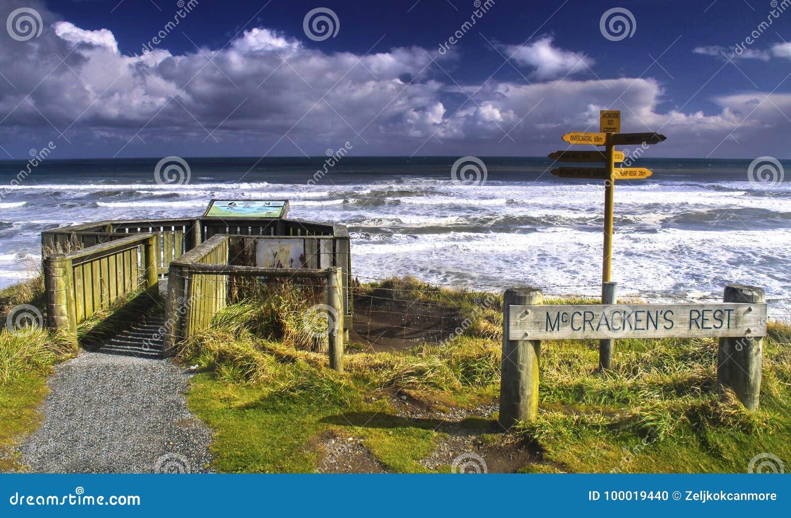 McCrackens Rest Viewpoint New Zealand