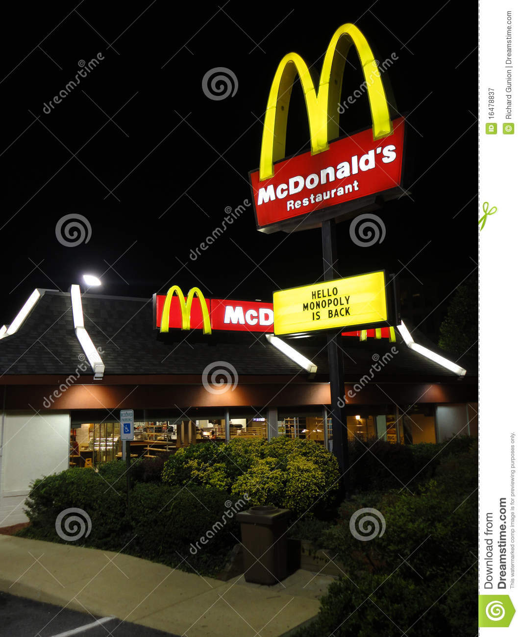 mcdonalds nature of business With all the ups and downs of the burger business there's one thing mcdonald's  can count on: rent.