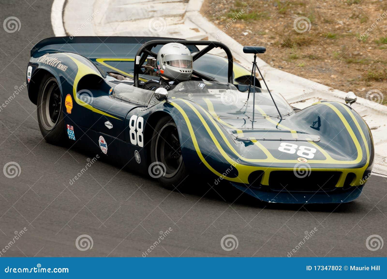 Mclaren Can Am Racing Car At Speed Editorial Photography Image Of