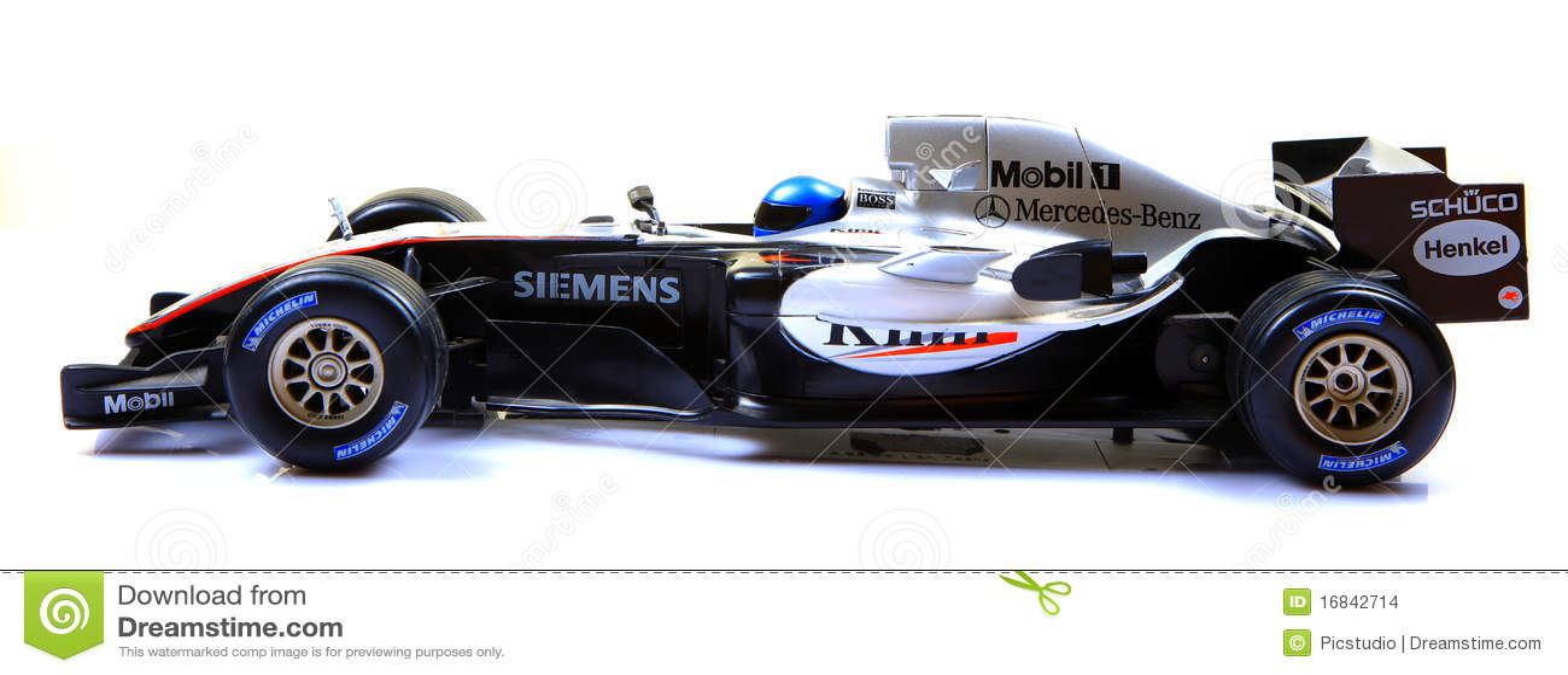 Mclaren Racing Car Side View Editorial Stock Image Image