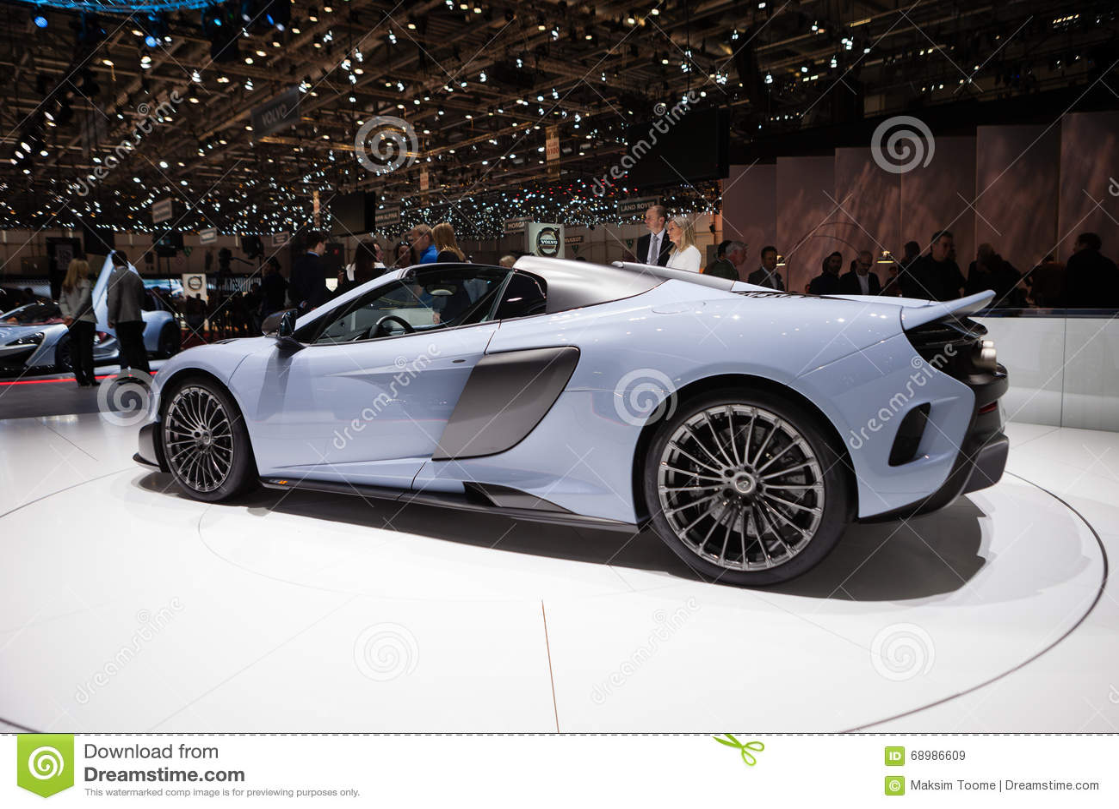 McLaren 675LT en Ginebra