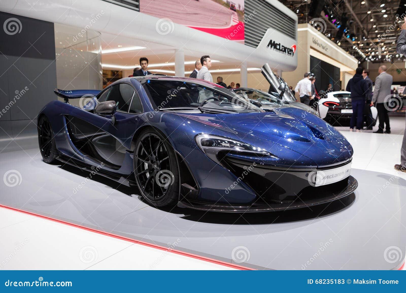Mclaren P1 In Geneva Editorial Stock Photo Image Of Automotive 68235183