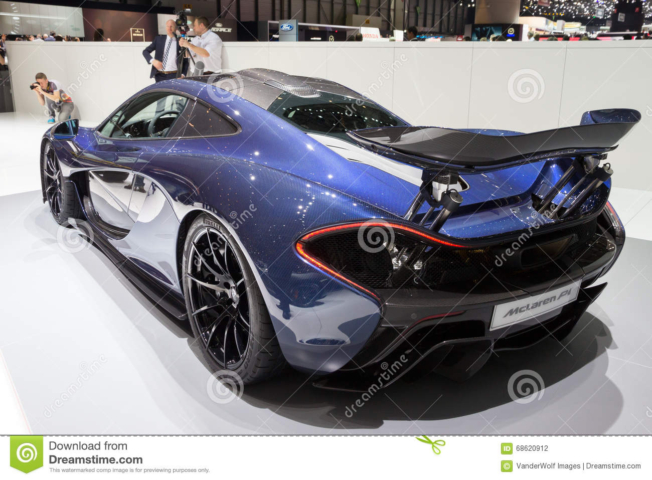 mclaren p1 plug in hybrid sports car editorial photography image 68620912. Black Bedroom Furniture Sets. Home Design Ideas