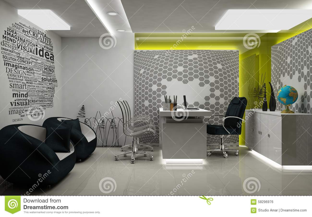 Md room 3d rendered stock illustration illustration of - Cool lighting effects for your room ...