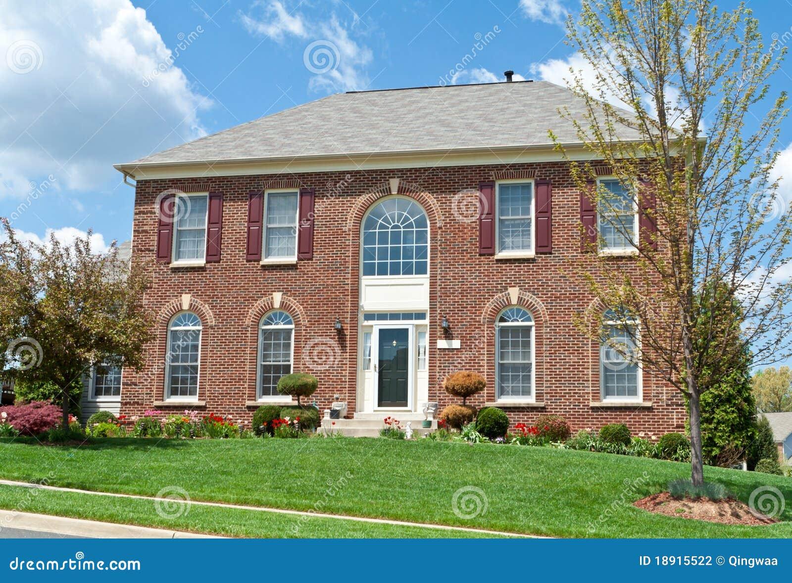 Md unifamiliar los e e u u del hogar de la casa del - La casa del hogar ...