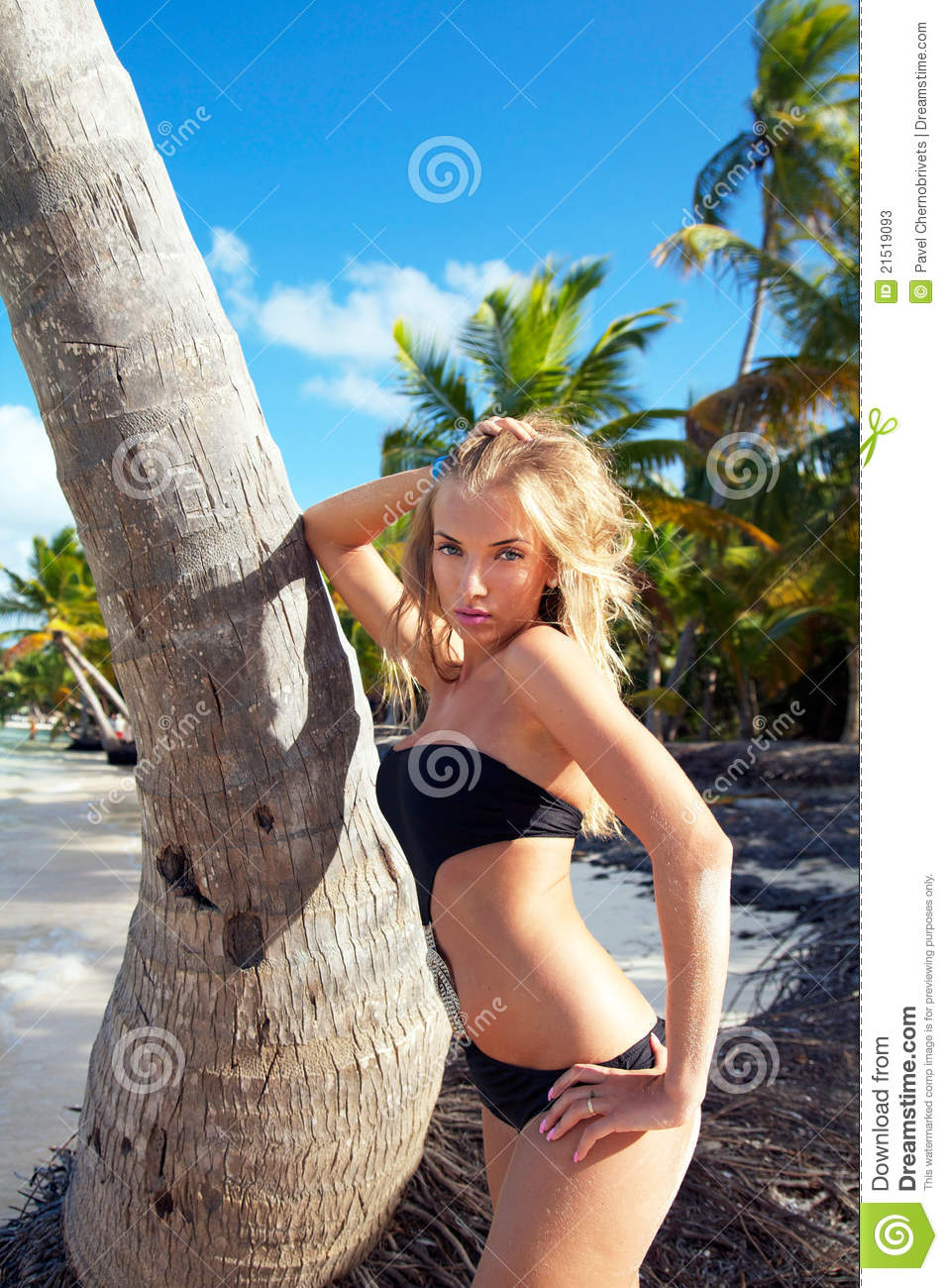 stockfotos blondes mdchen strand image