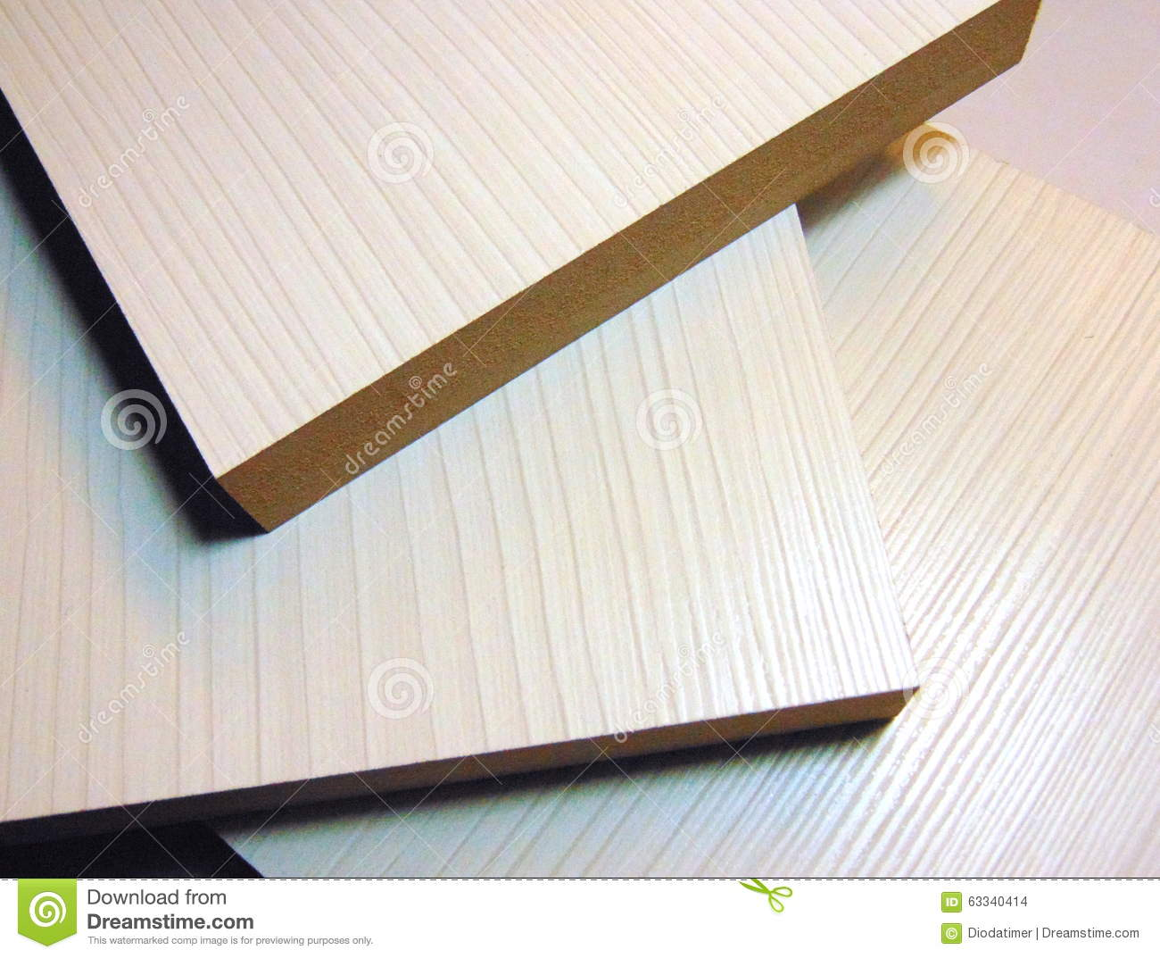 Medium Density Board ~ Mdf boards stock photo image