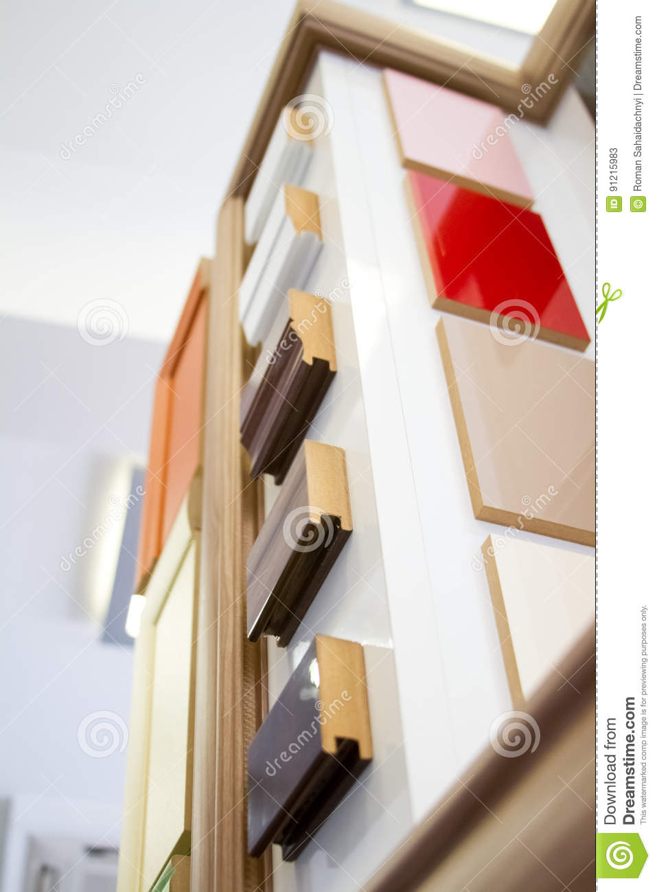 MDF, PARTICLE BOARD. Wood Panels Of Different Thicknesses And ...