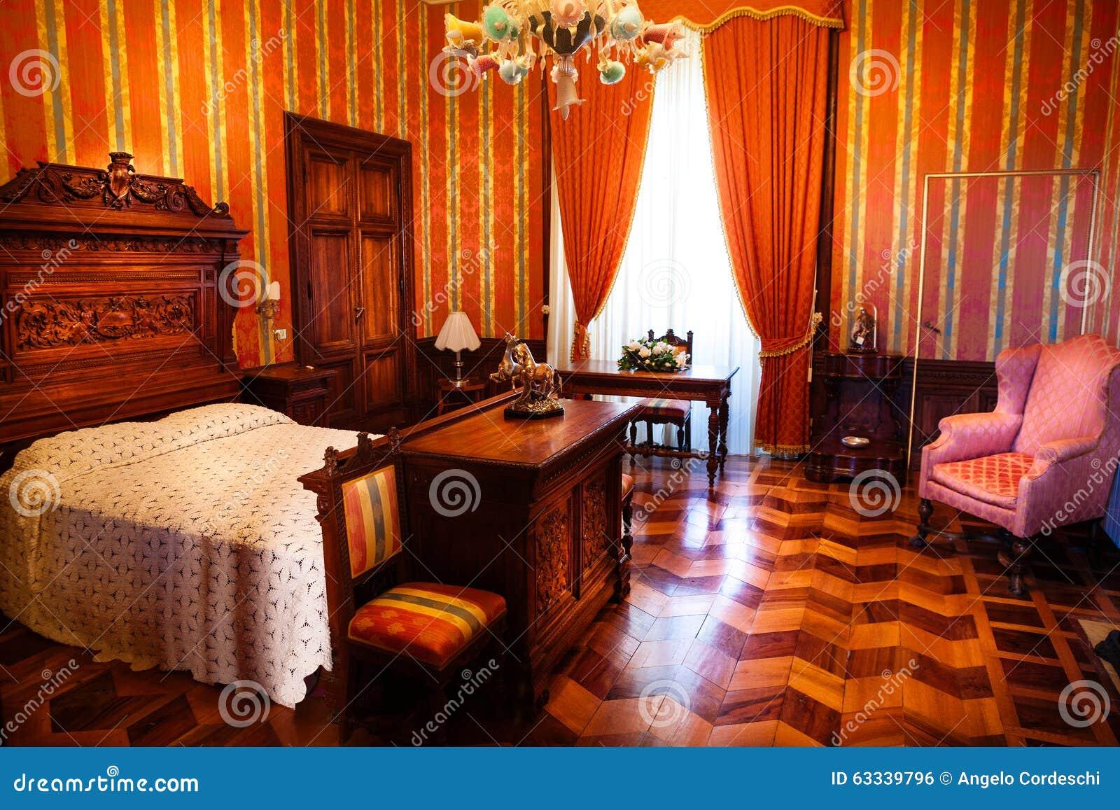 19 me si cle de chambre coucher appartement de luxe for Interieur 19eme siecle