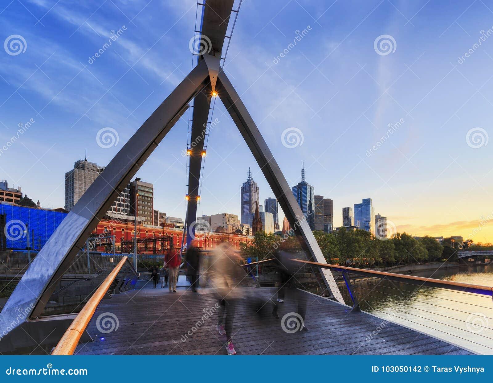 ME Walker Bridge Blur People