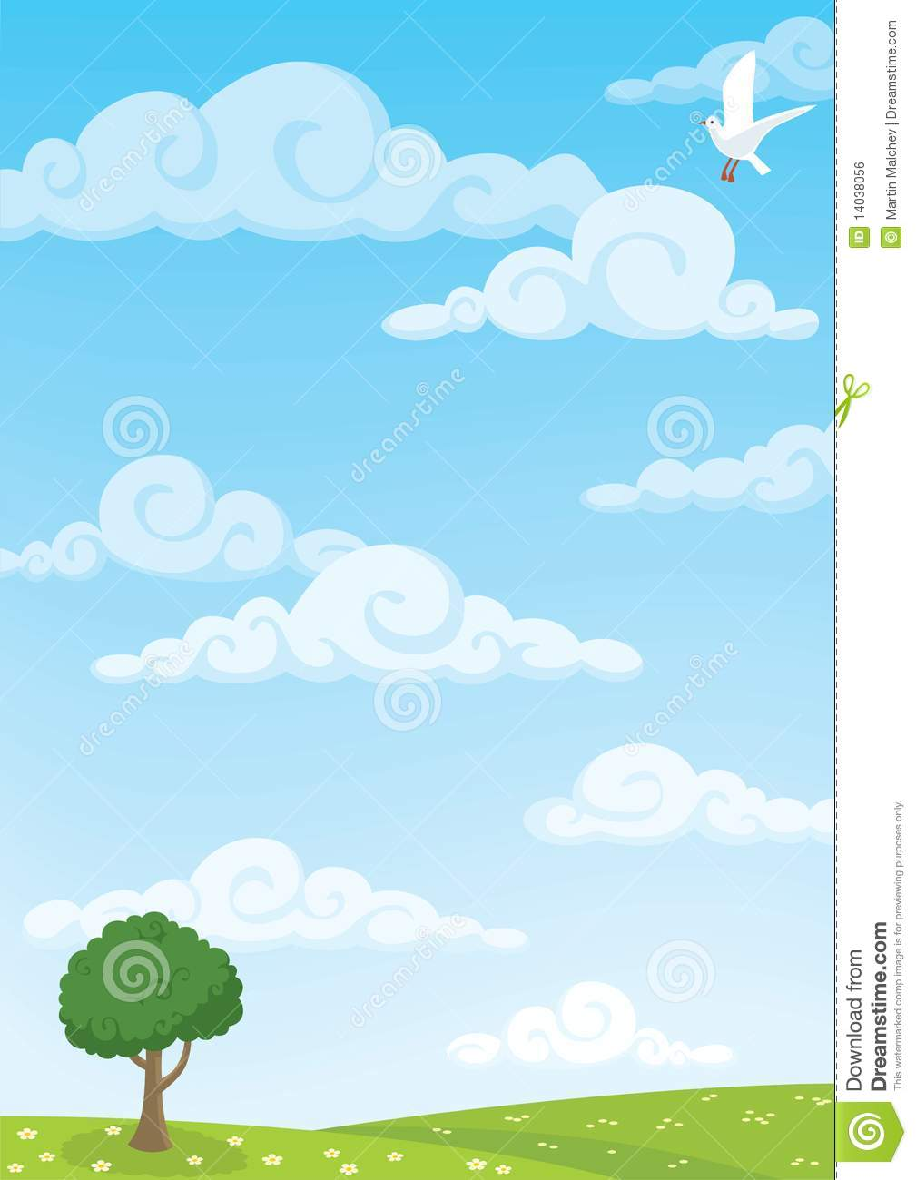 Meadow Background Royalty Free Stock Image Image 14038056