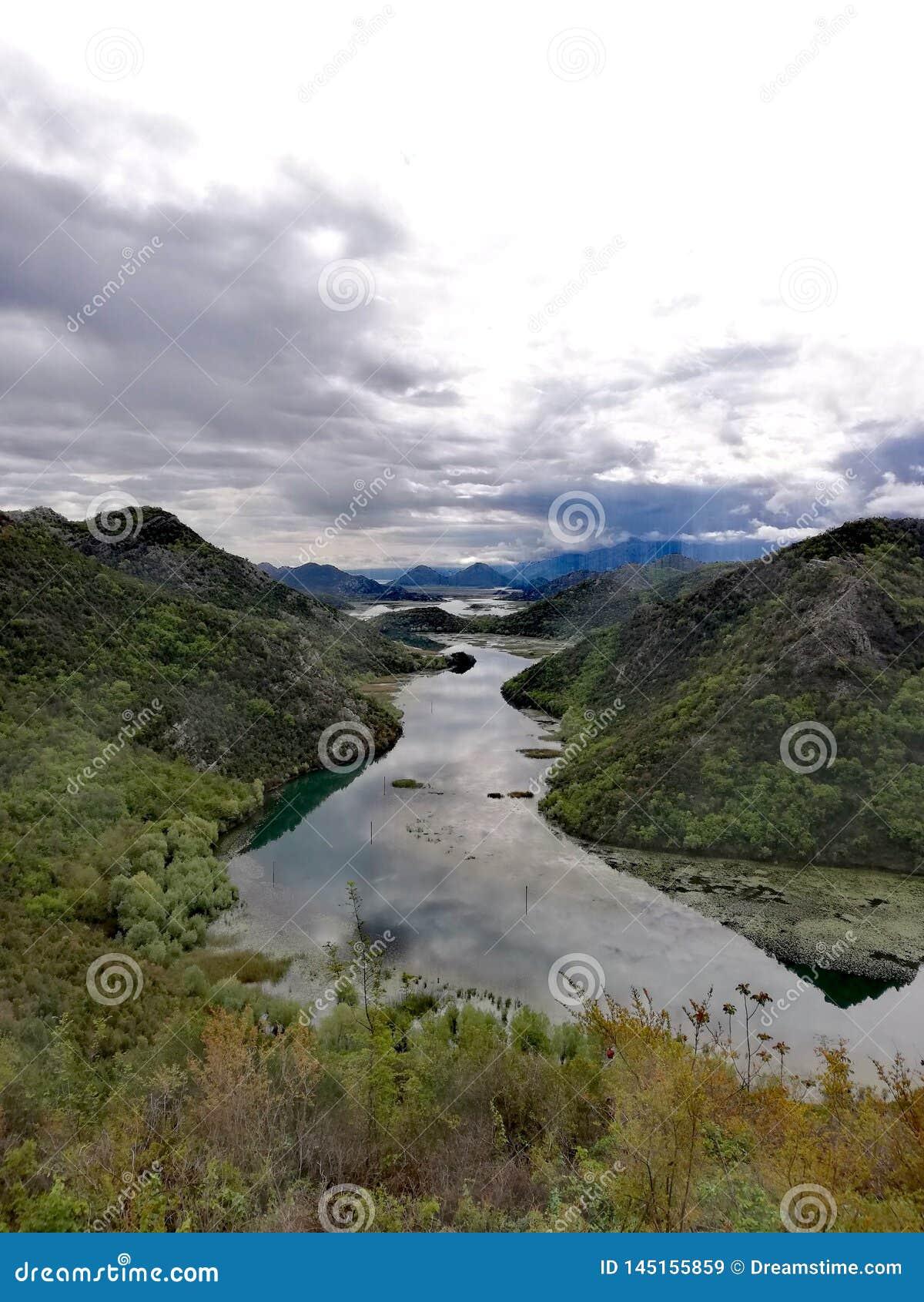 Meandro di un fiume