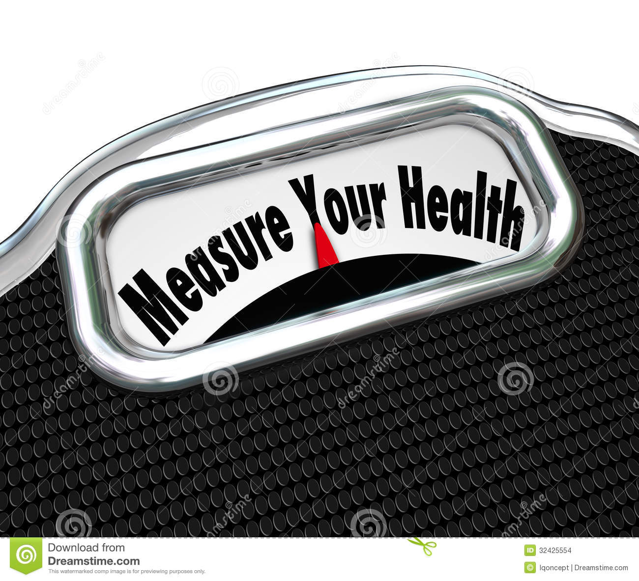 Measure Your Health Scale Weight Loss Healthy Checkup