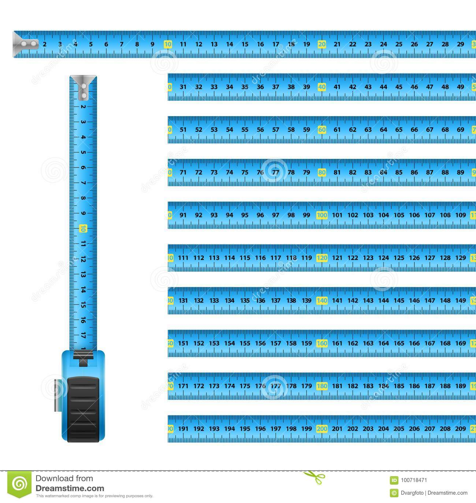1ae168842fd Measuring Graphic Design Blue Roulette Centimeter Scale on the White