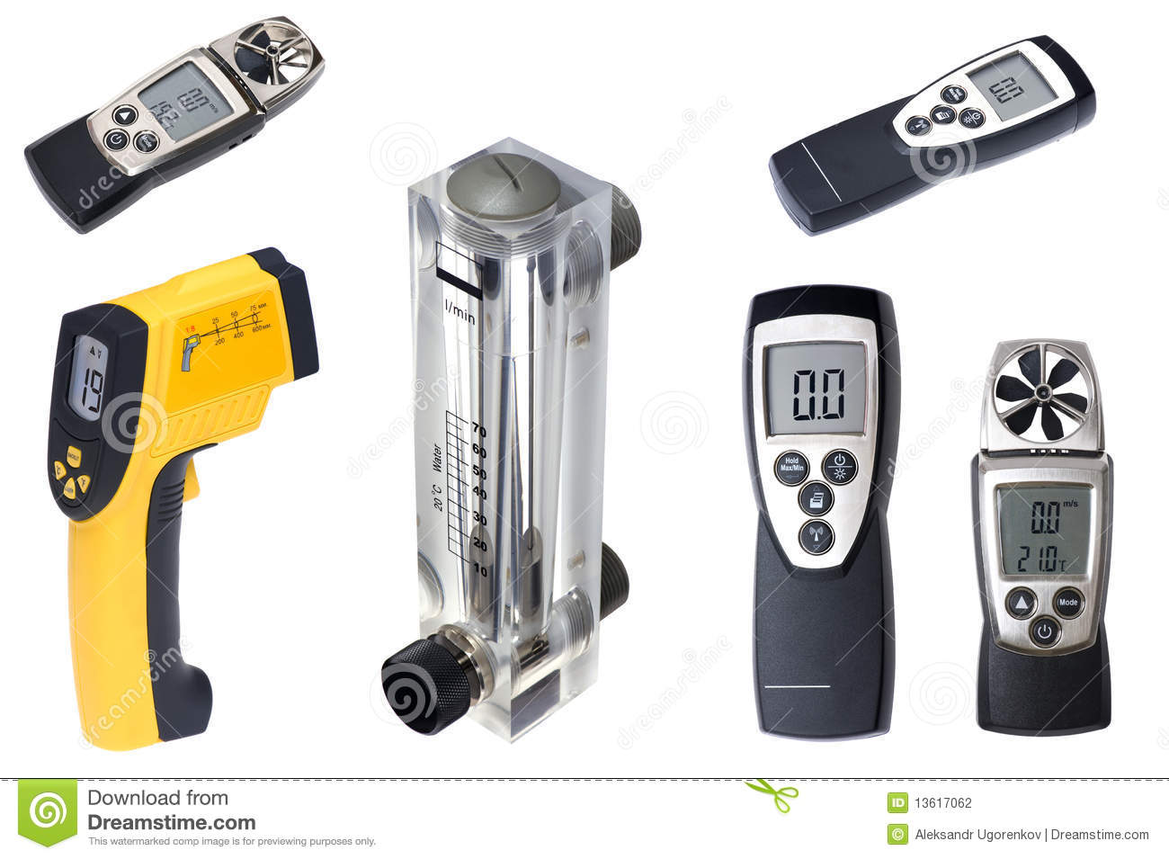 Time Measuring Instruments : Measuring instruments stock photo image of symbol