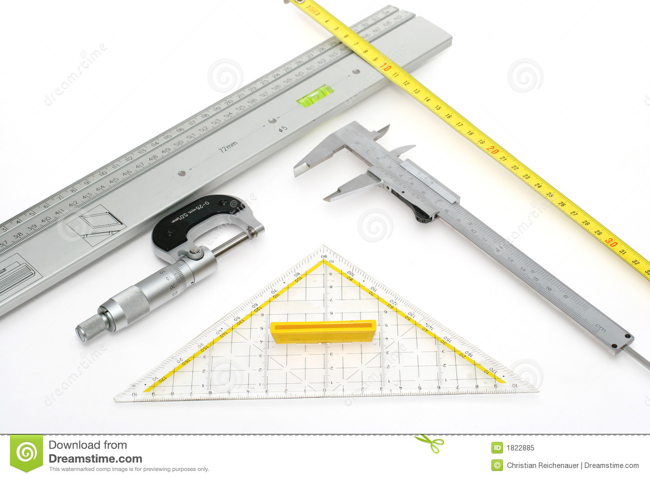 Time Measuring Instruments : Measuring instruments royalty free stock photo image