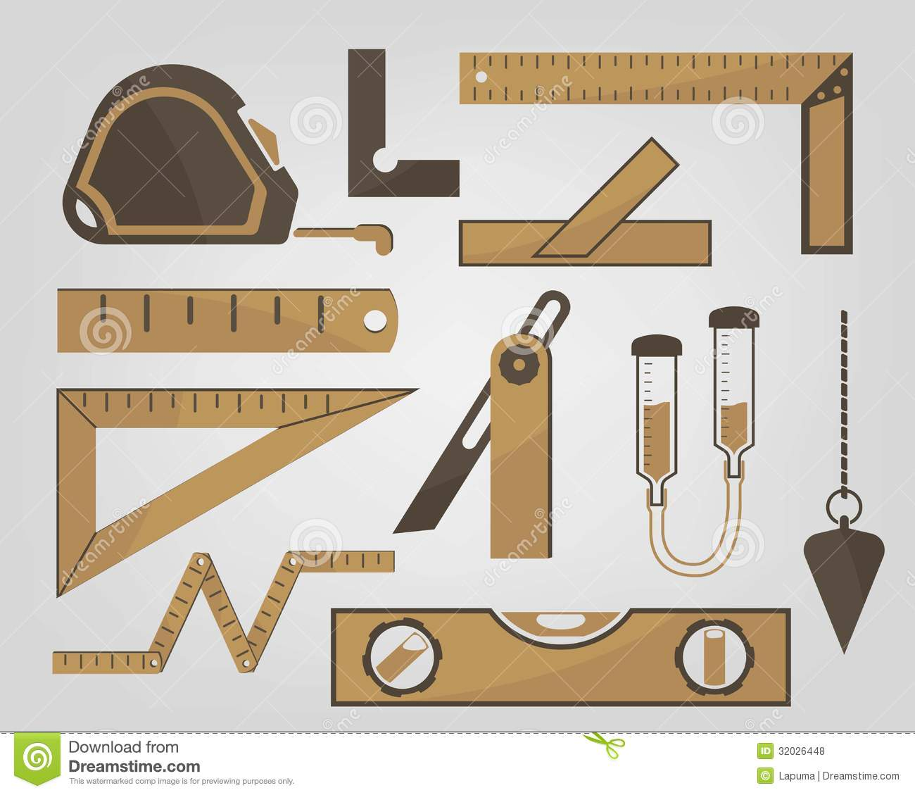 Used Measuring Instruments : Measuring instruments royalty free stock photos image
