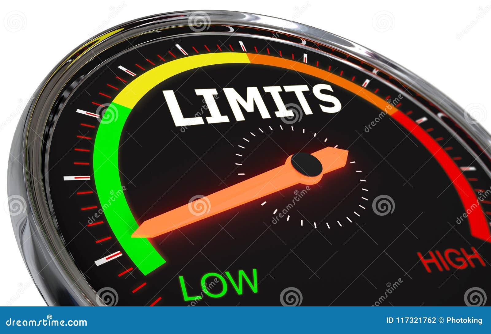 Measuring limits level