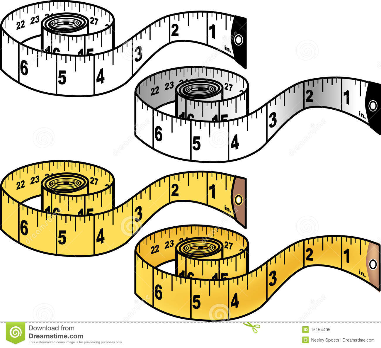 It's just a graphic of Invaluable Measuring Tape Drawing