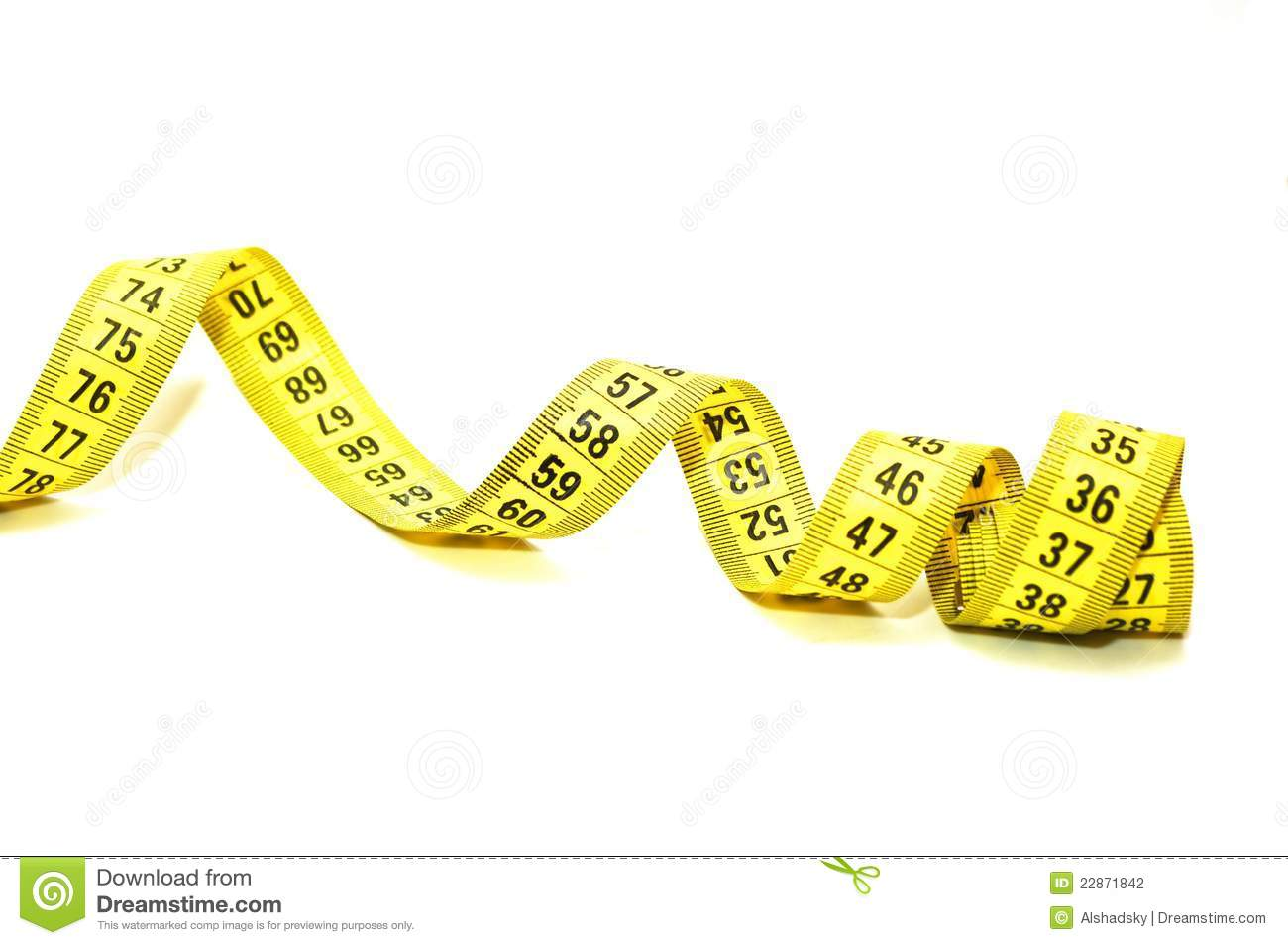 Measuring tape stock photography image 22871842
