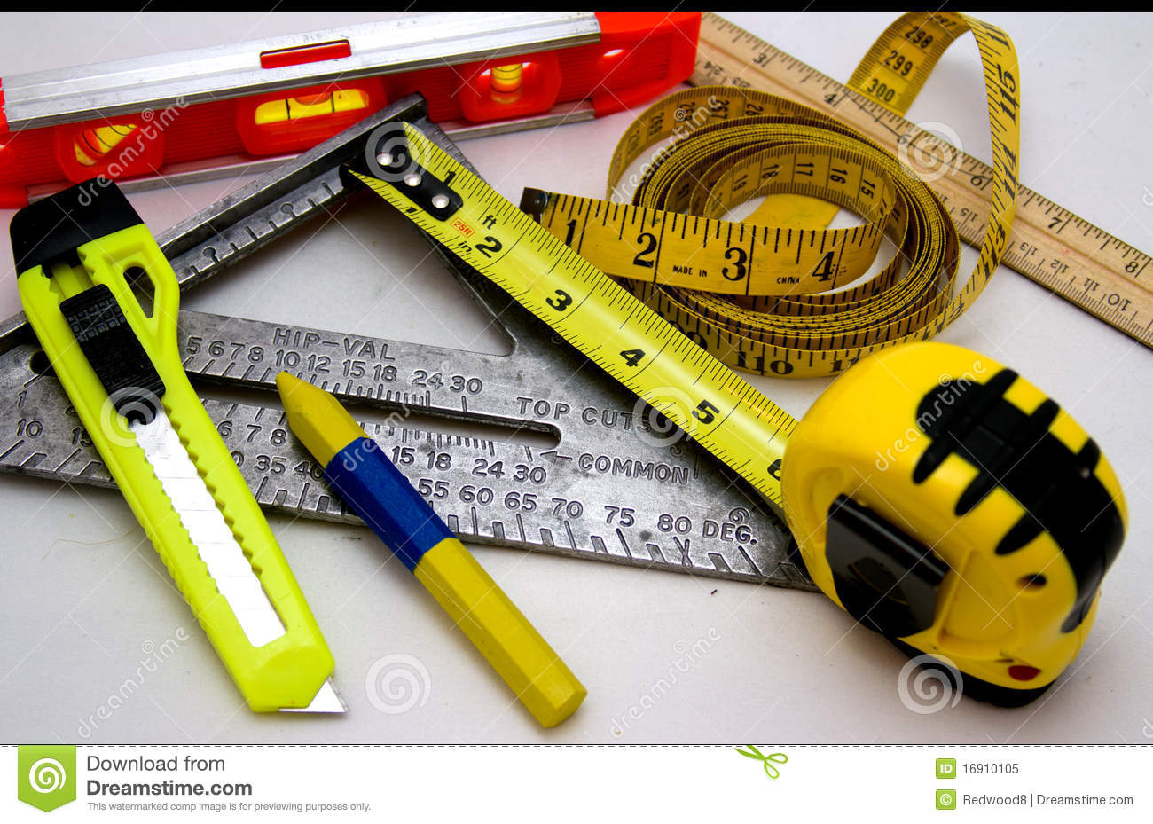 Time Measuring Instruments : Measuring tools royalty free stock photo image