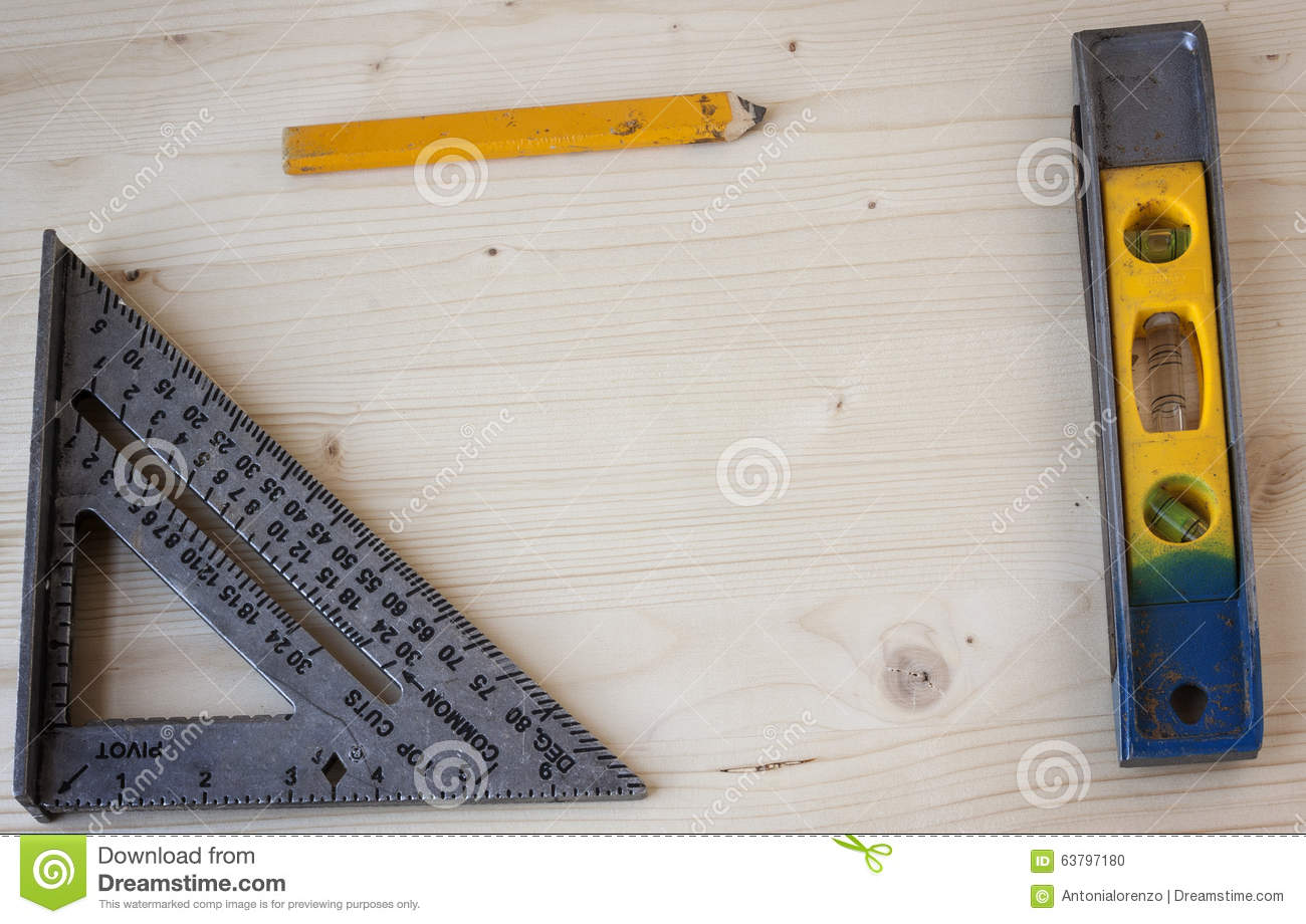 Measuring Tools Stock Photo Image 63797180